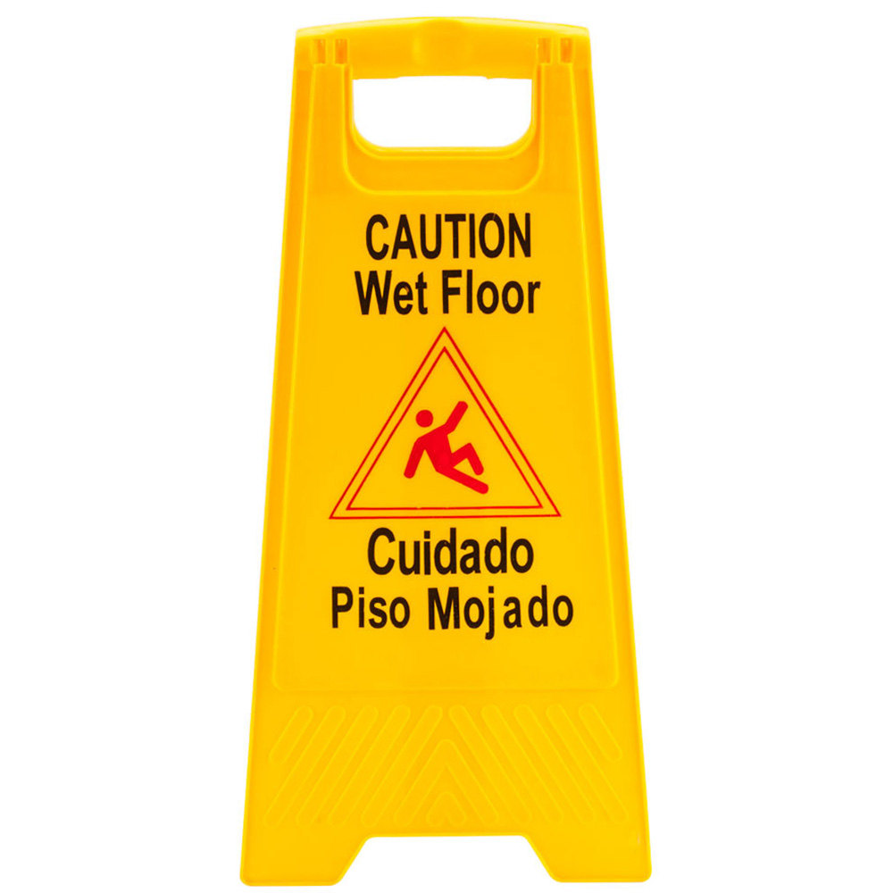 wet floor sign yellow wet floor signs. Black Bedroom Furniture Sets. Home Design Ideas