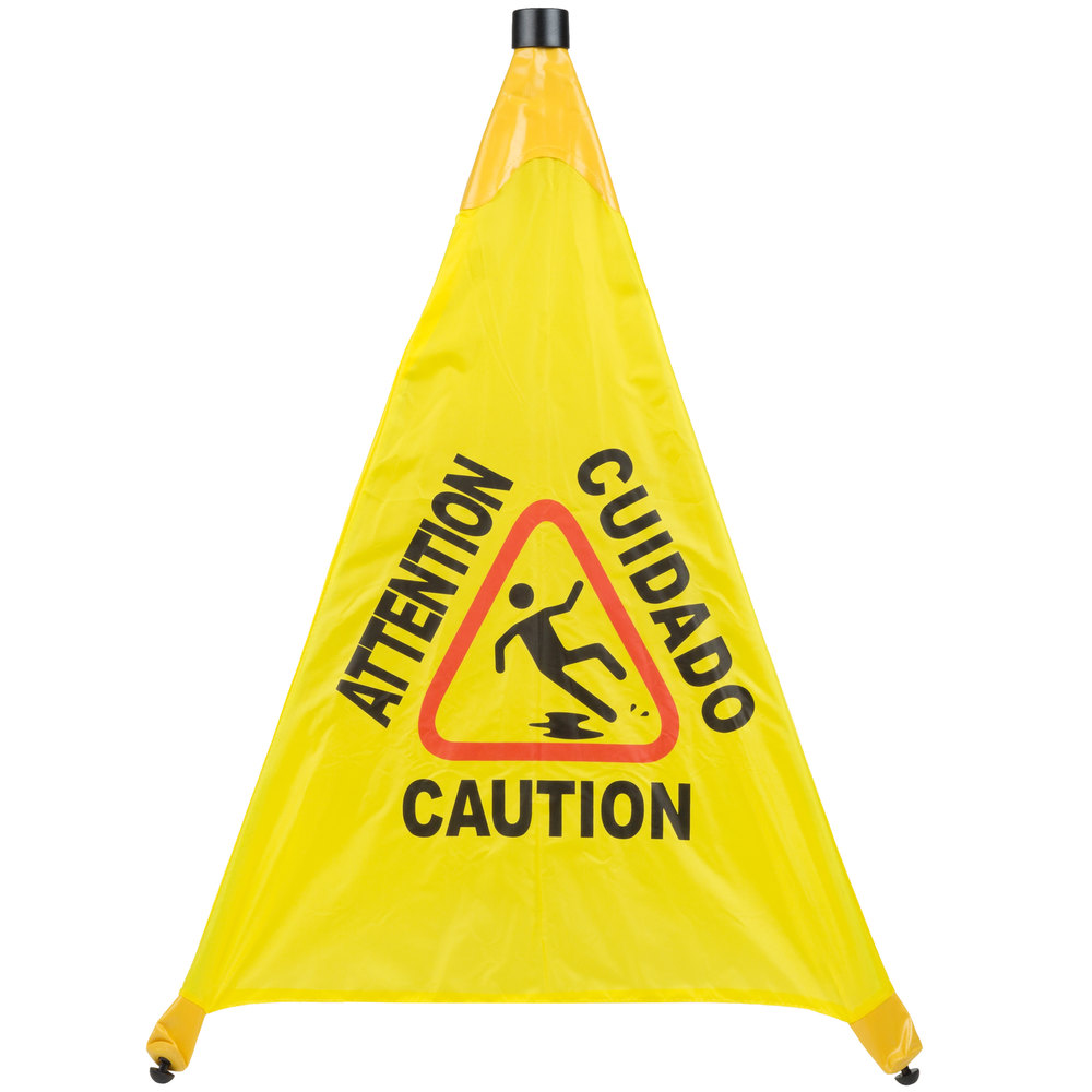 31 Quot Pop Up Safety Cone Wet Floor Sign