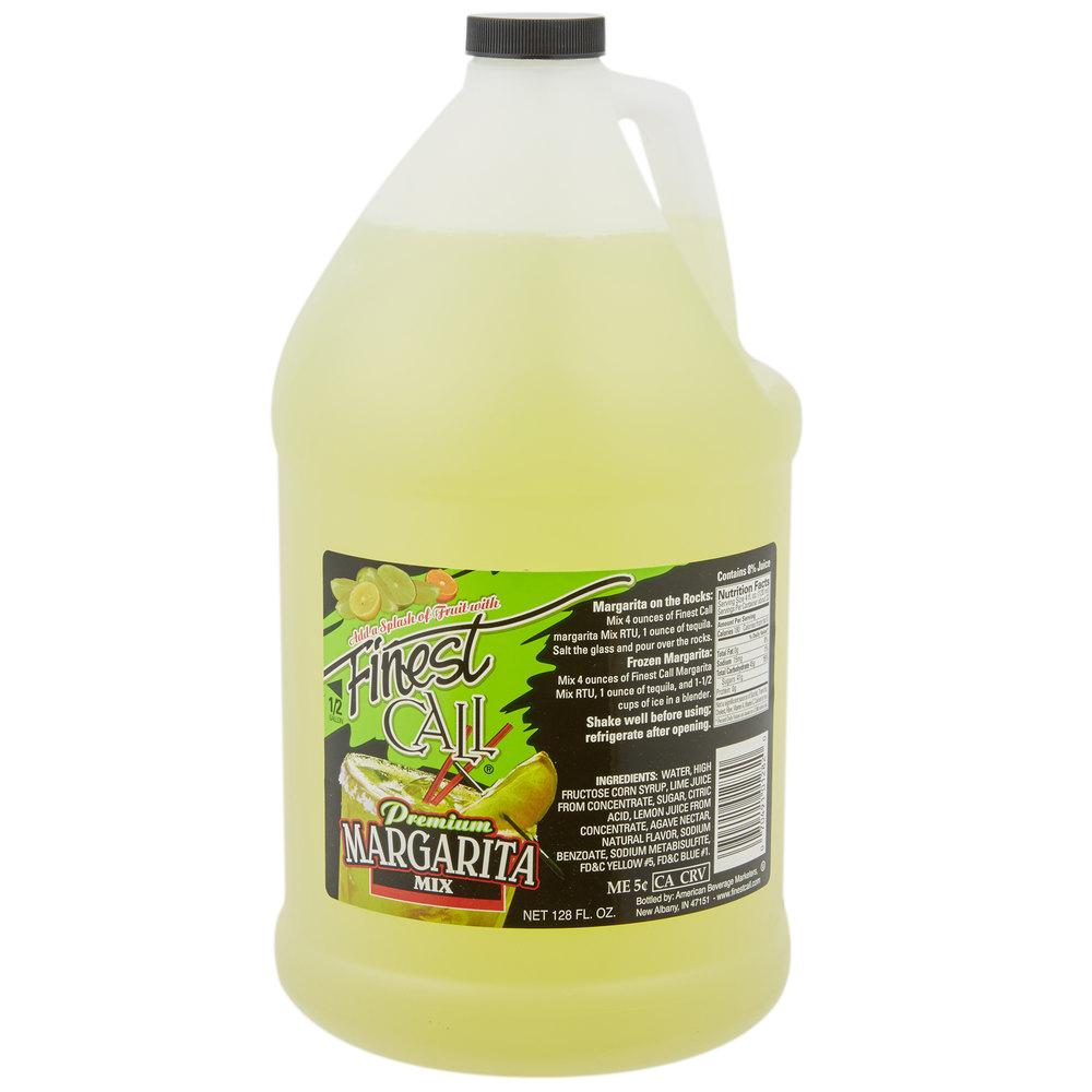 Finest Call Margarita Drink Mix  Gallon