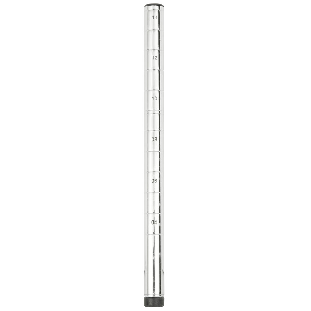 "Regency 14"" NSF Chrome Post"