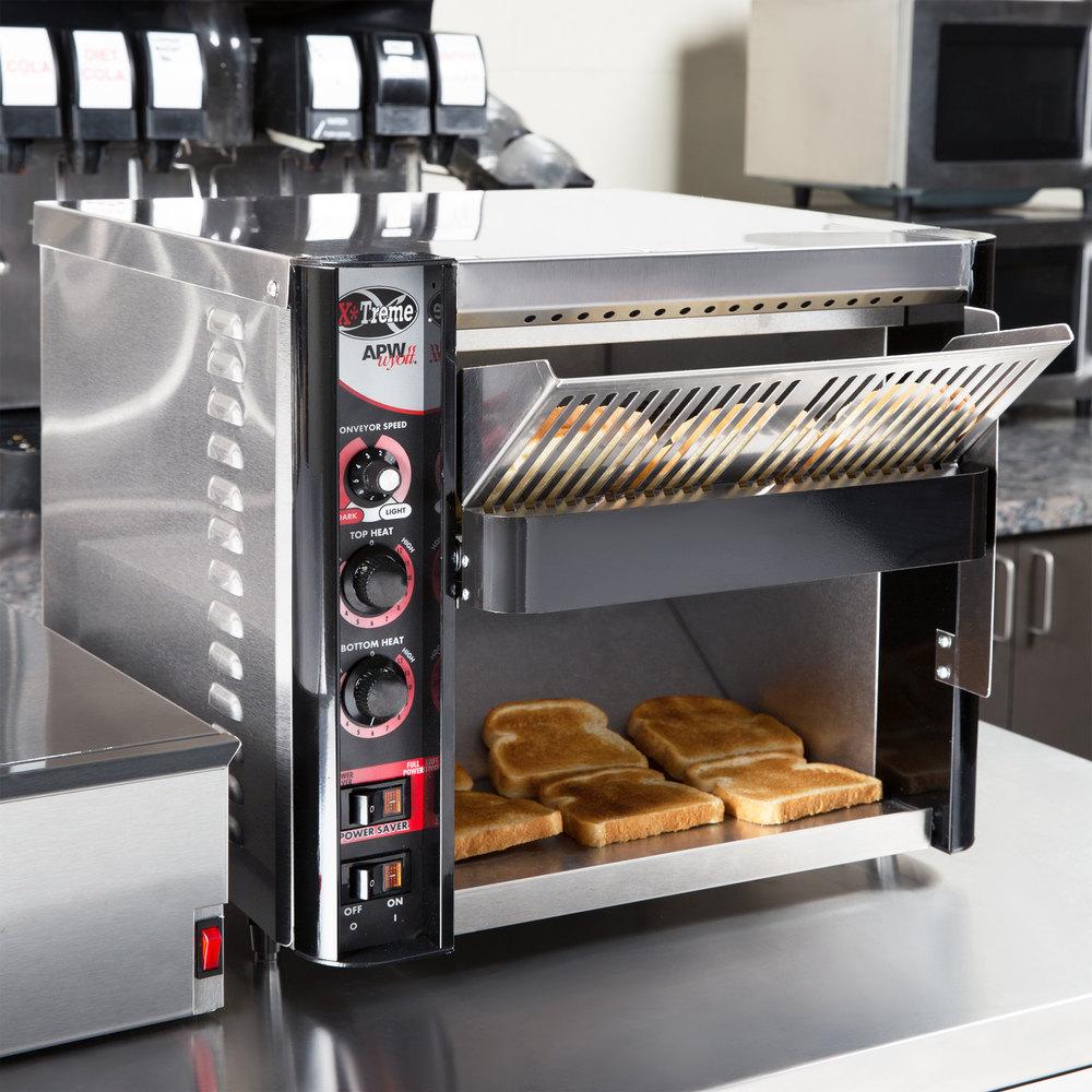 Apw Wyott Xtrm 3h 13 Quot Wide Belt Conveyor Toaster With 3
