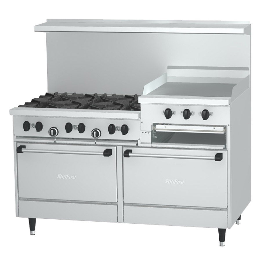 Stove With Griddle ~ Garland sunfire series g rr liquid propane burner