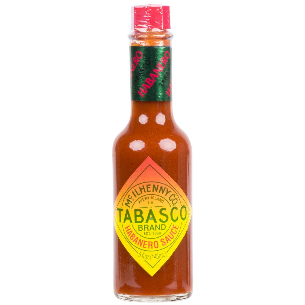 TABASCO® 5 oz. Habanero Hot Sauce