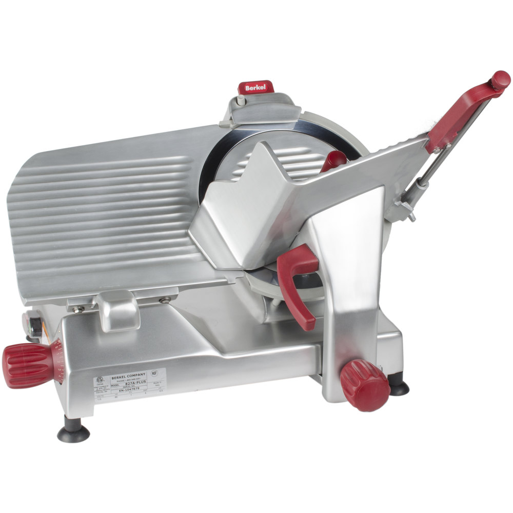 12 Quot Meat Slicer Berkel 827a Plus 12 Inch Manual Gravity Feed Meat Slicer 1 2 Hp