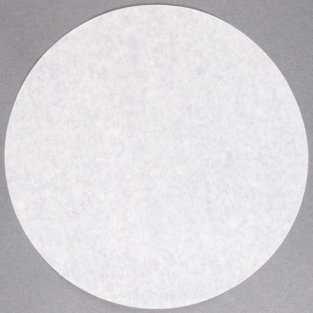 9 Quot Round Dry Wax Parchment Pan Liner 1000 Case