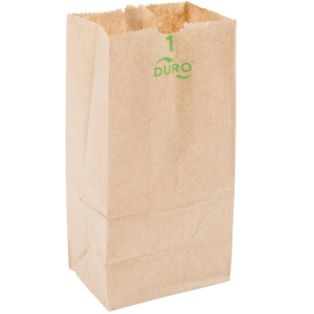 Duro Brown Paper Bag 1 Lb