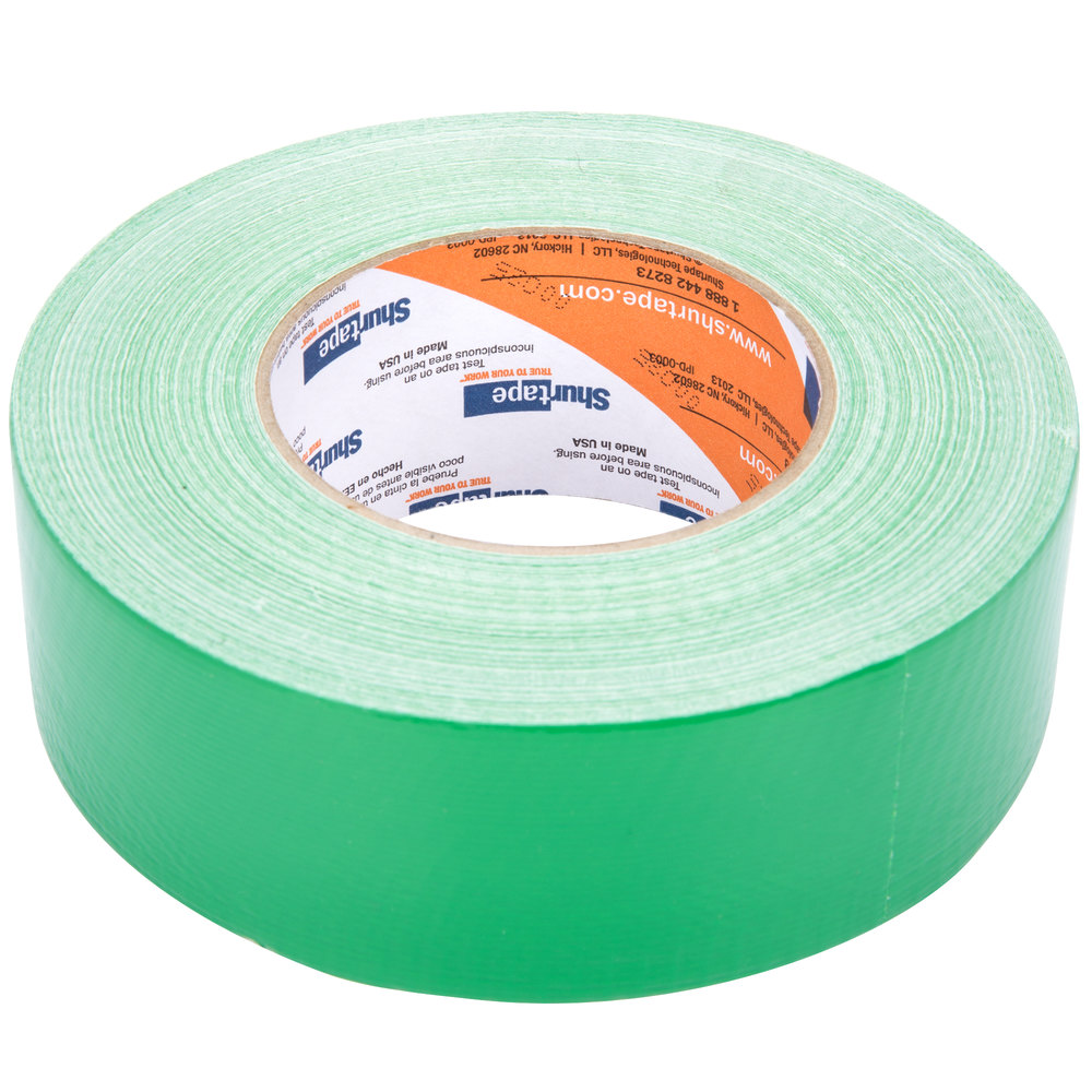 "Green Duct Tape 2"" x 60 Yards (48 mm x 55 m) - General Purpose High Tack"