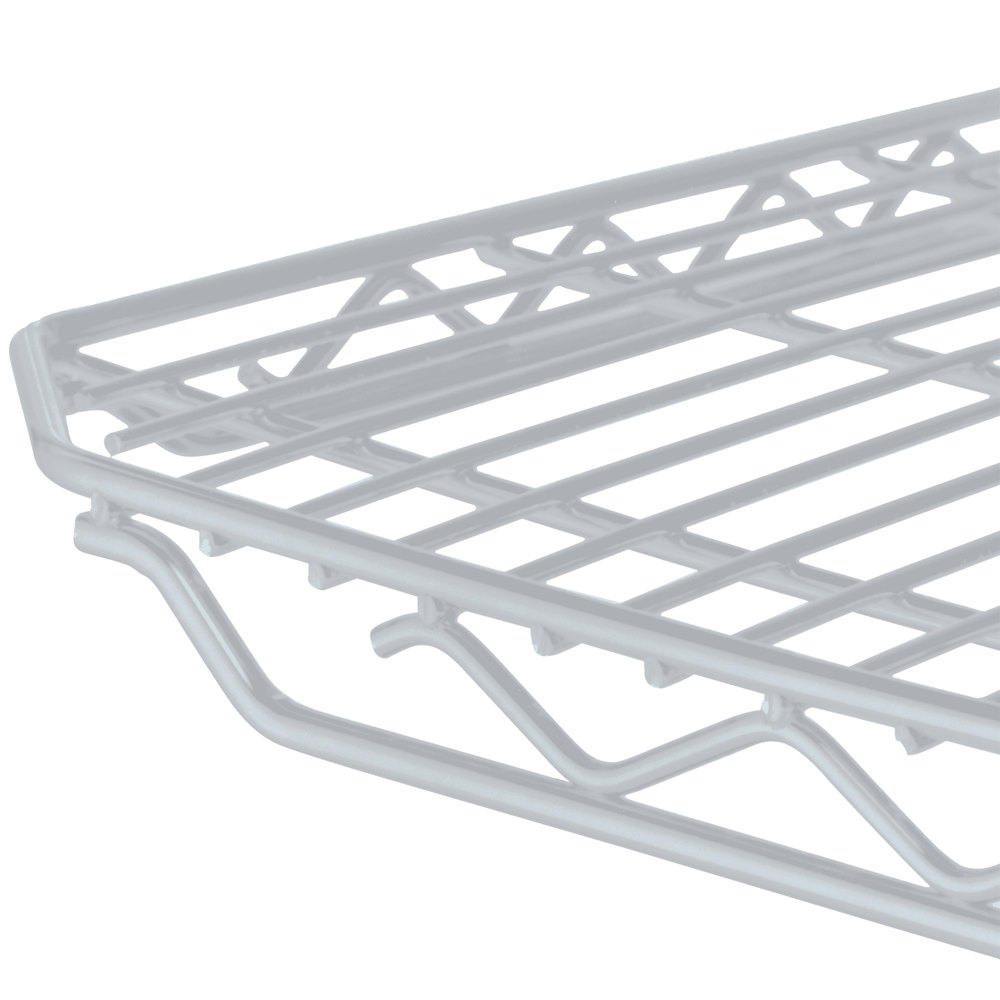 "Metro 2160QBR qwikSLOT Super Erecta Brite Wire Shelf - 21"" x 60"""