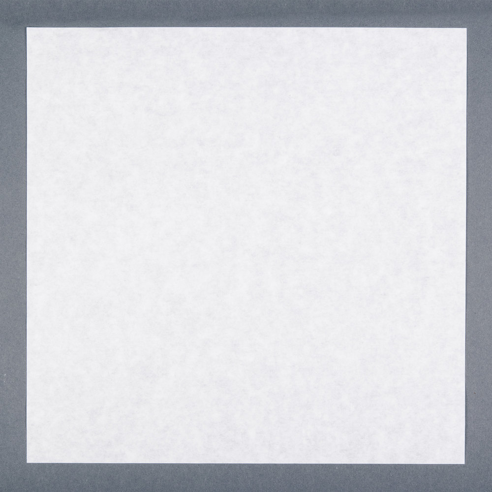 "Tablecraft ACP12 12"" x 12"" White Cone / Basket Liner - 1000/Pack"