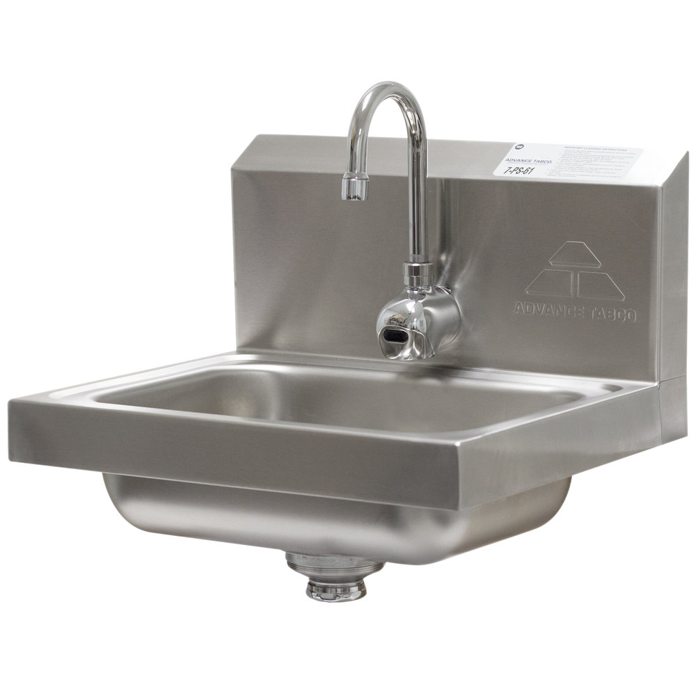 Advance Tabco 7 Ps 61 Hand Sink With Hands Free Automatic