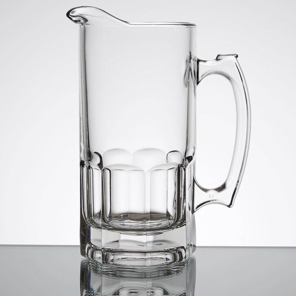 libbey 5263 gibraltar 34 oz glass pitcher 12 case. Black Bedroom Furniture Sets. Home Design Ideas