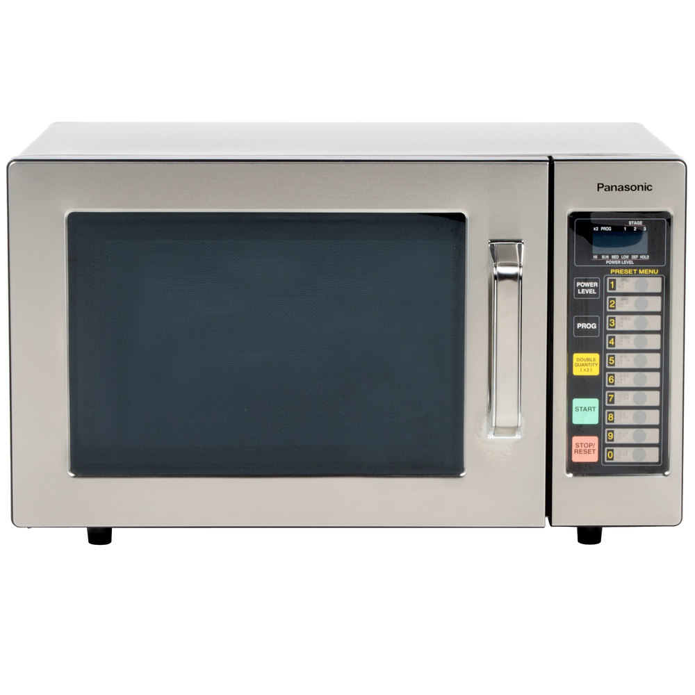 Panasonic Microwave Ovens ~ Panasonic ne f stainless steel commercial microwave