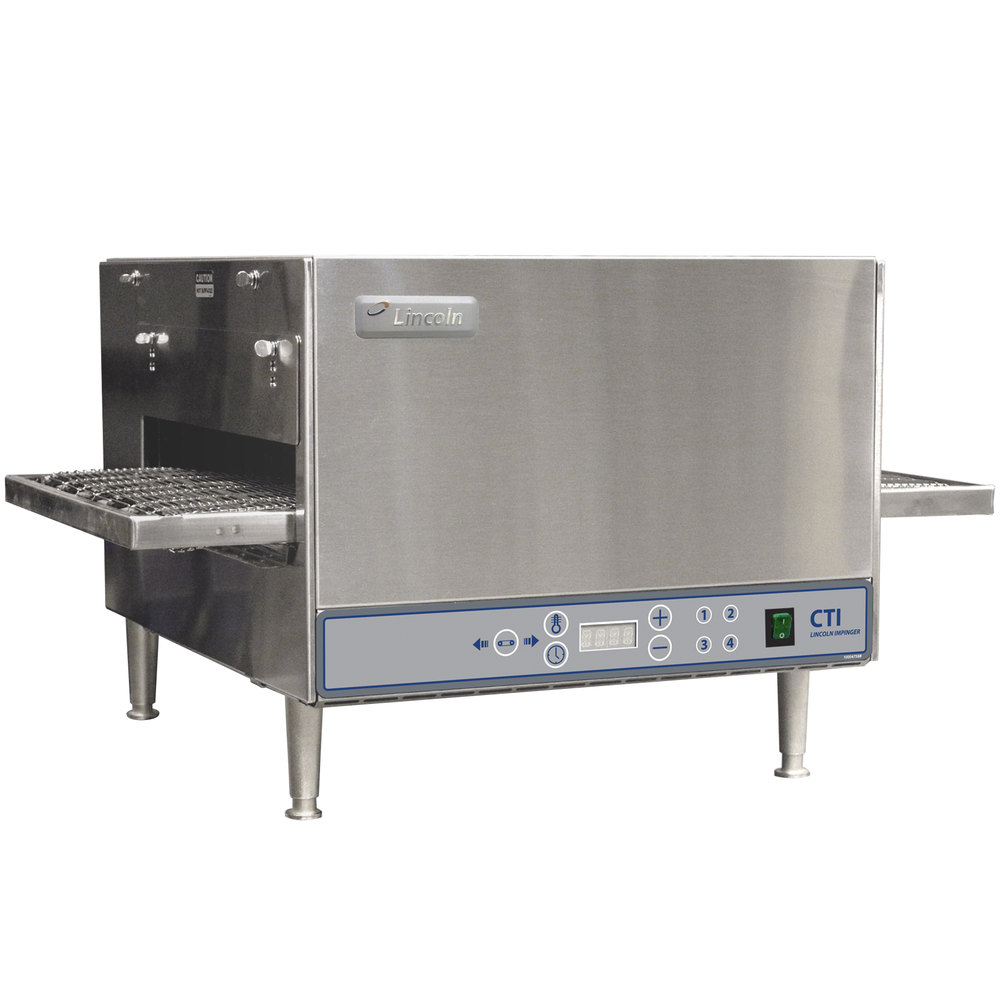 Electric Conveyor Toaster ~ Lincoln series countertop impinger dcti electric