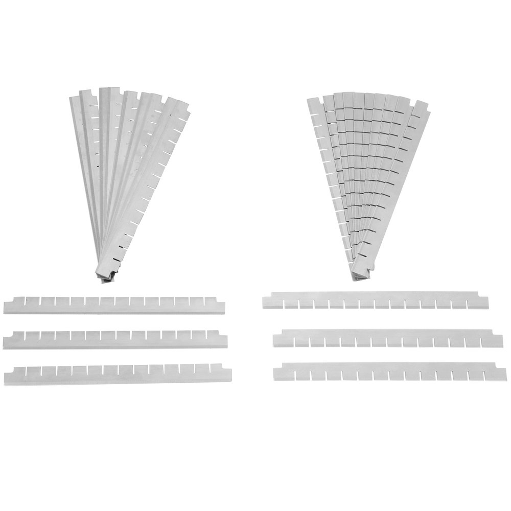 "Nemco 536-1 1/4"" Square Cut Replacement Blade Set"