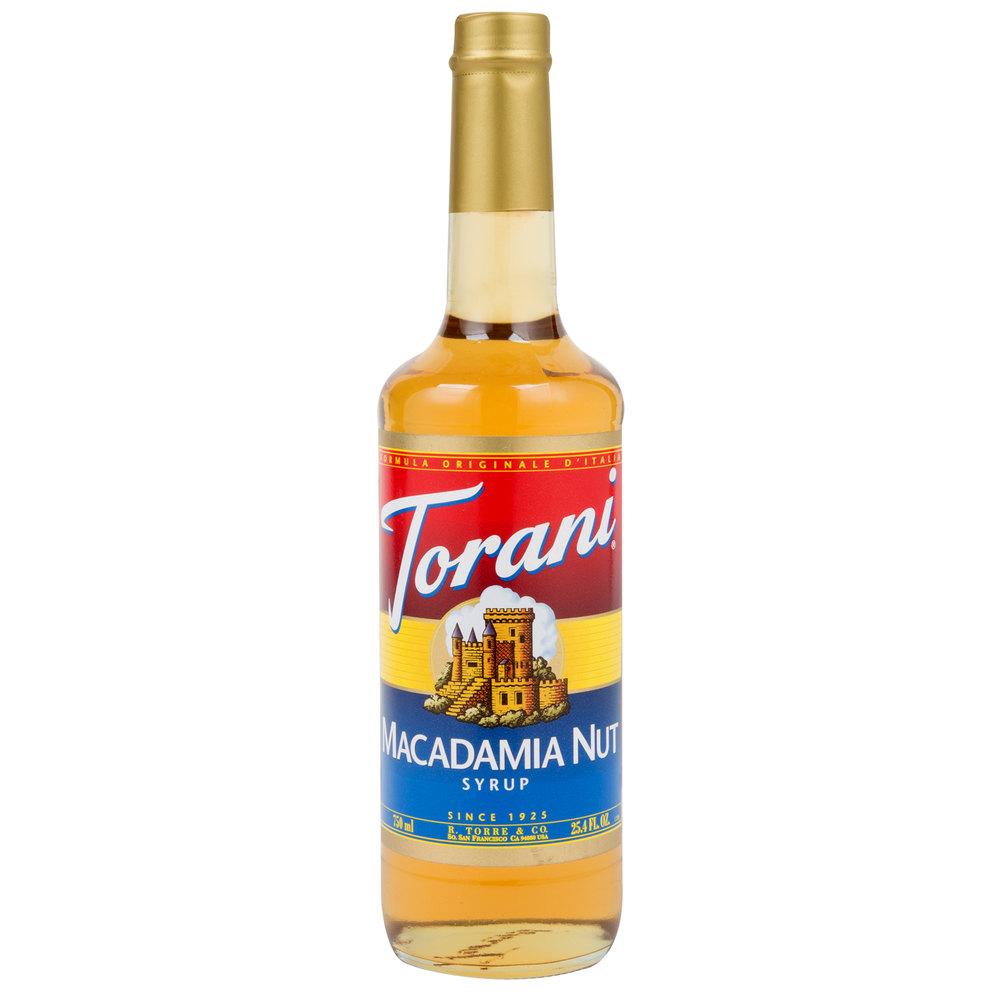 how to make macadamia nut syrup