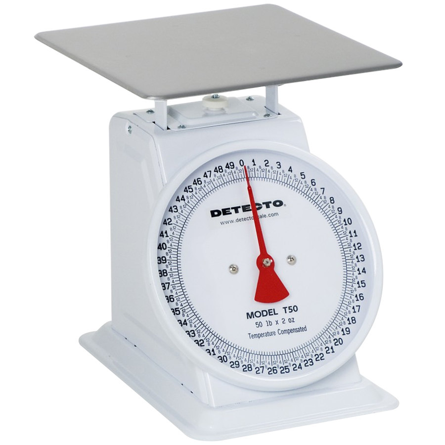 Cardinal Detecto T5 5 lb. Top Loading Fixed Dial Scale