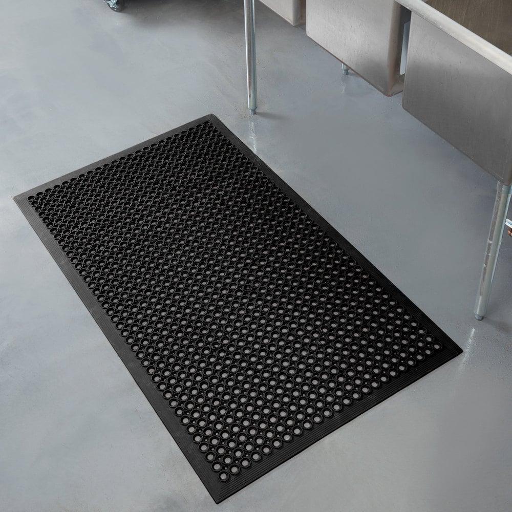 Rubber Floor Mats : Teknor apex t competitor black anti