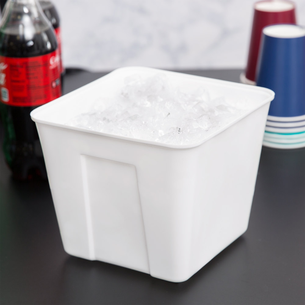3 Qt. Plastic Ice Bucket - 72 / Case