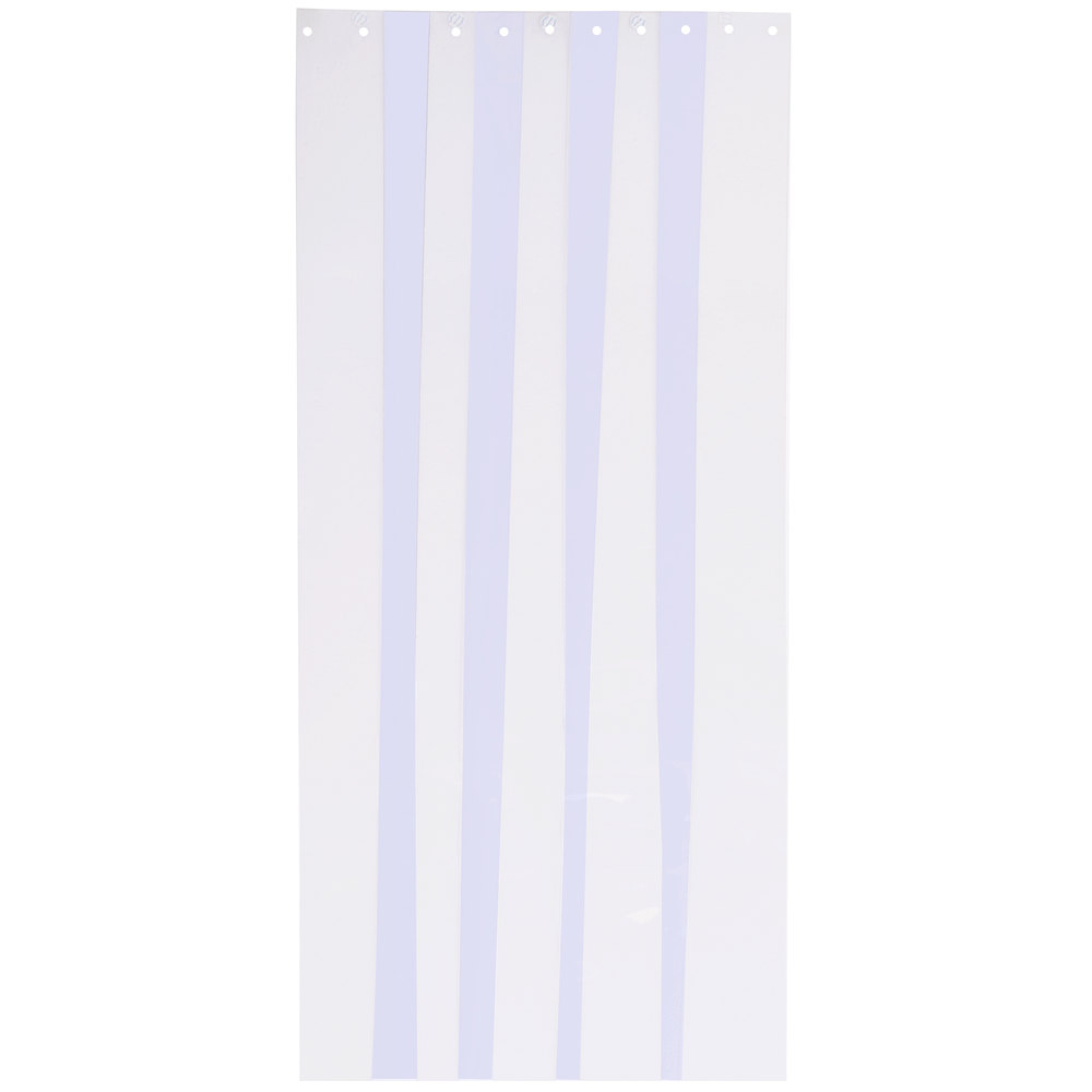 "Curtron CZN-6-S-80-4PK 6"" x 80"" Standard Grade Replacement Door Strips - 4 / Pack"
