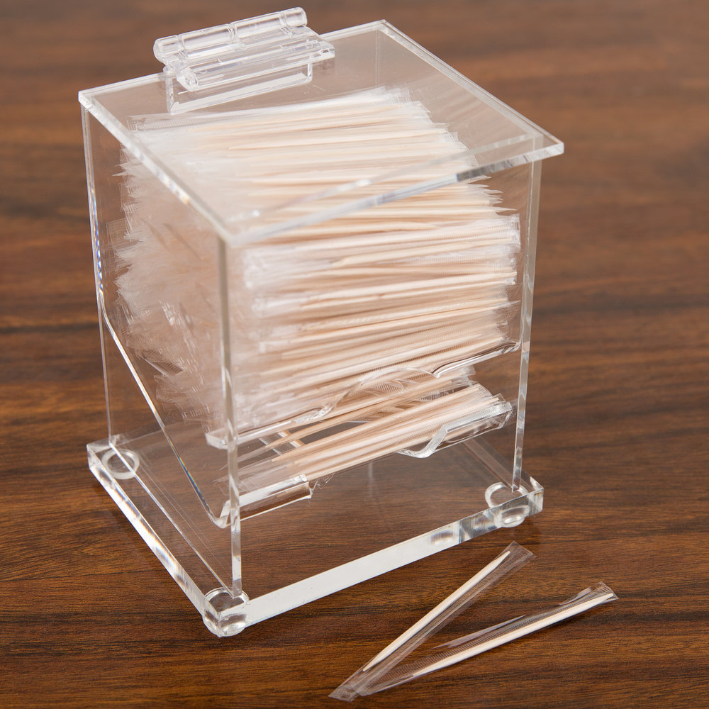 Cal mil 304 classic wrapped toothpick dispenser 4 1 4 x 3 1 2 - Toothpick dispenser ...