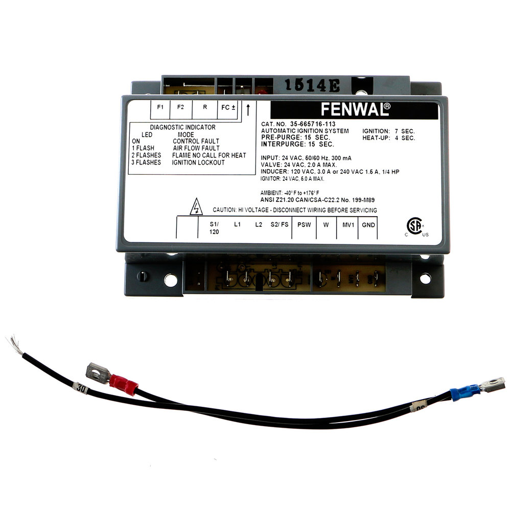 Lang Ps Sk W1353 Kit Serv Gcsf Ign Module 120vac Disconnect Wiring