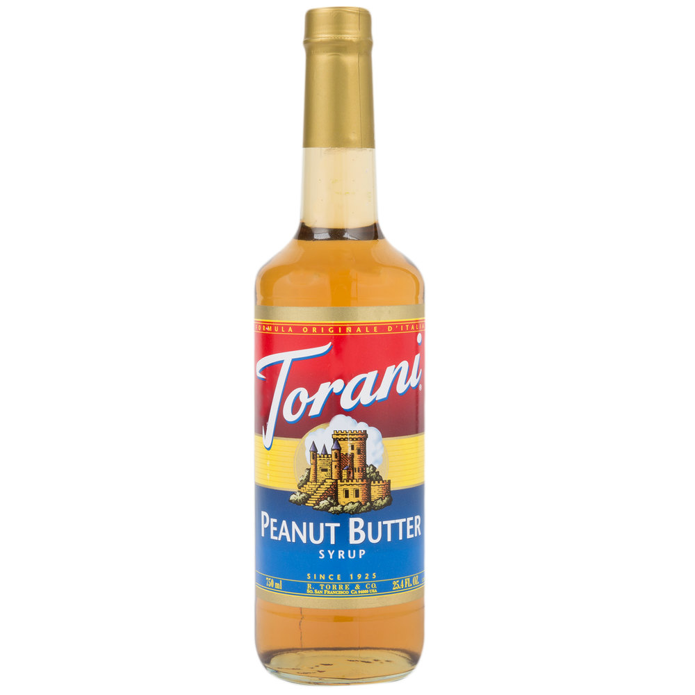 Torani 750 Ml Peanut Butter Flavoring Syrup