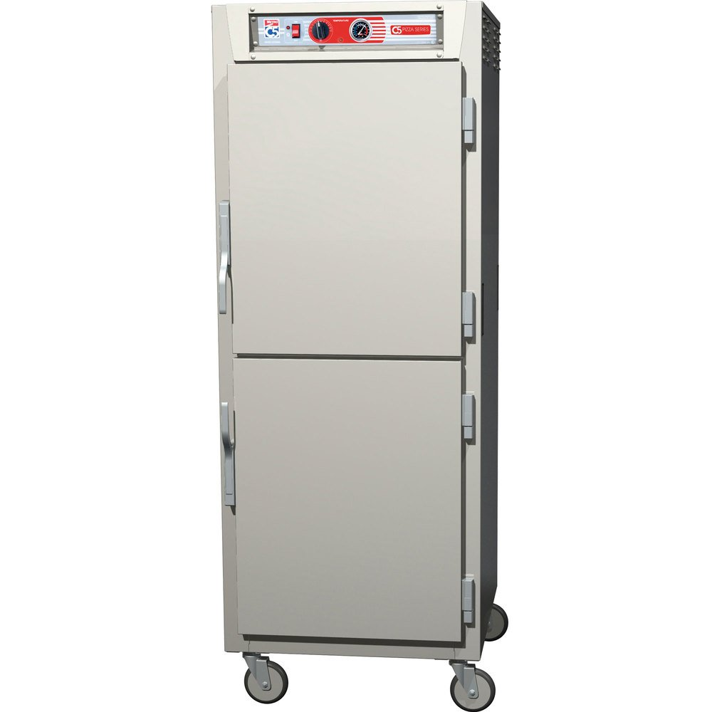 Metro C5Z69-NDS-S C5 Pizza Series Insulated Heated Holding Cabinet - Full Size with Solid Dutch Doors 120V