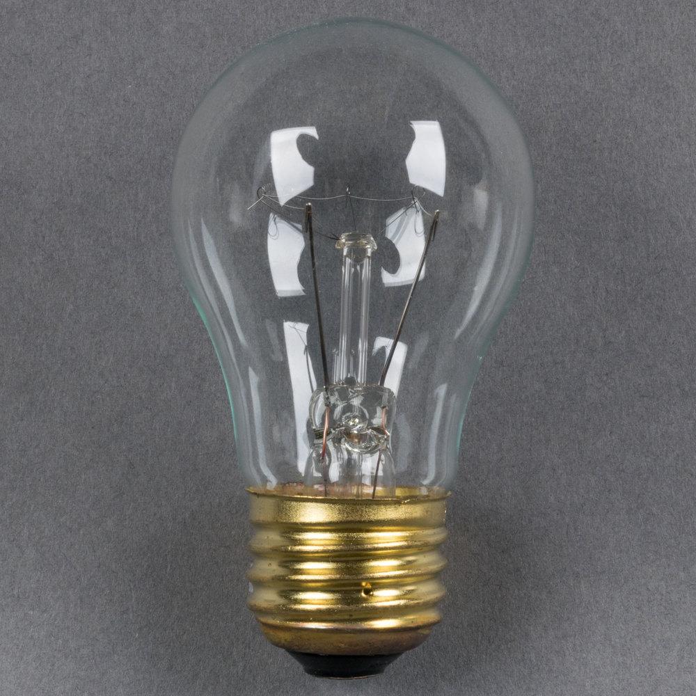 15 Watt Havells 60503 Clear Appliance Incandescent Light Bulb A15 Cl 130v 4 Pack