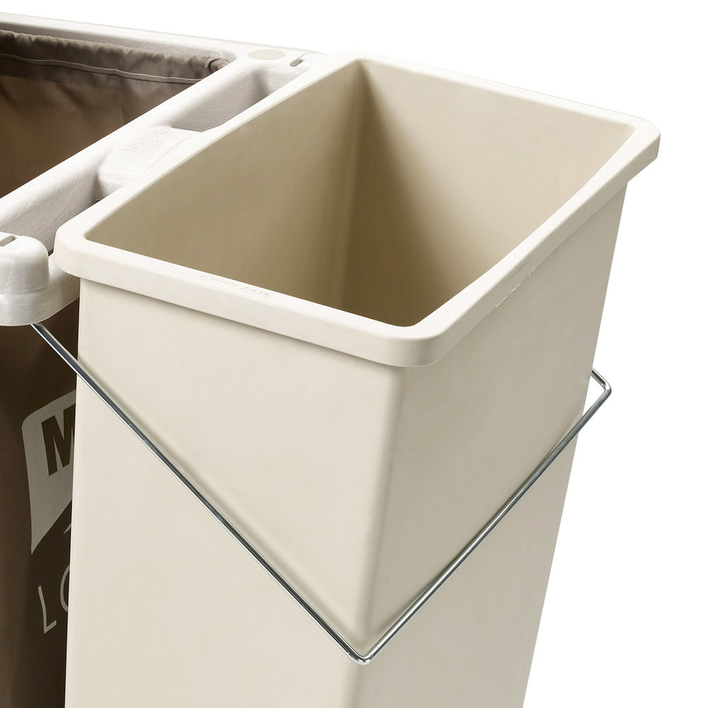 Metro LXHK3-WCH Trash Can Holder for Lodgix Standard Height Housekeeping Carts