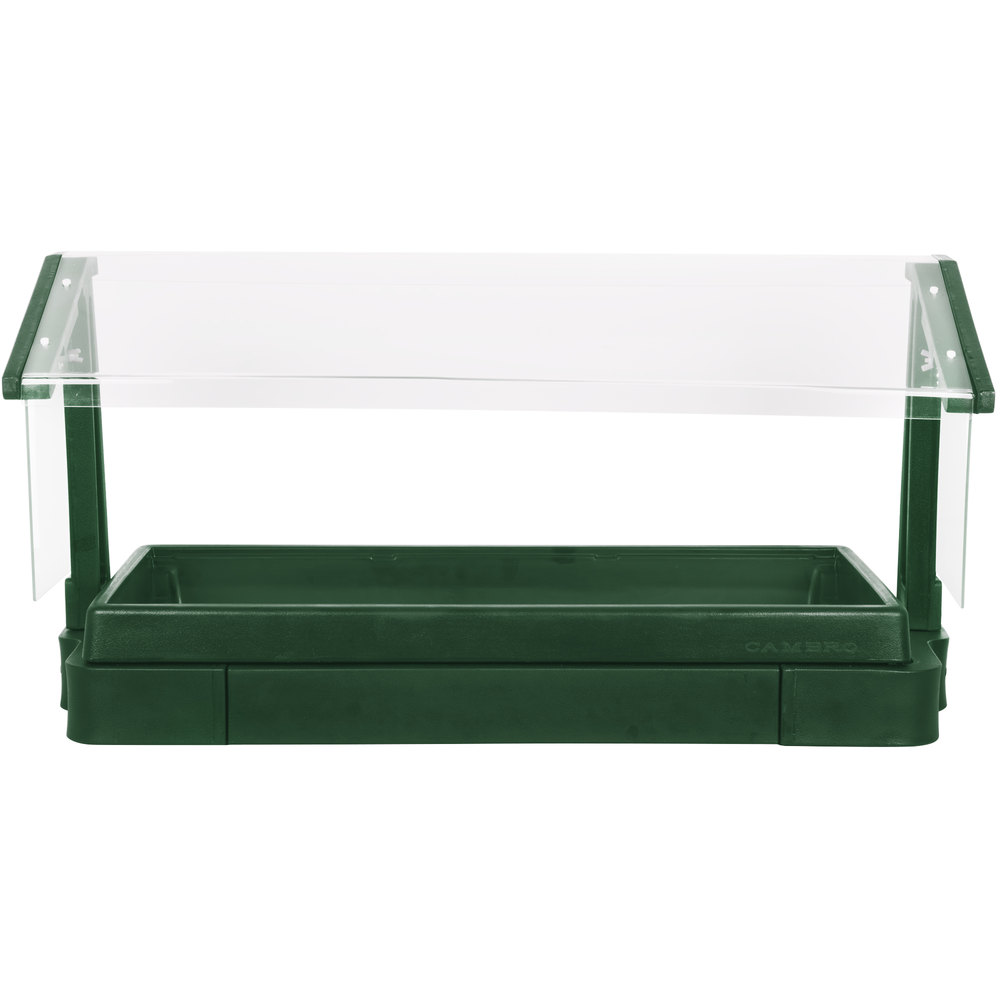 Cambro BBR480519 4' Green Buffet / Salad Bar with Sneeze Guard