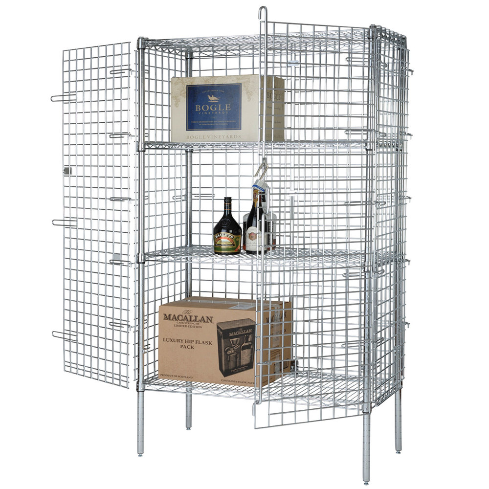 "Wire Security Cage - 18"" x 60"" x 63"""