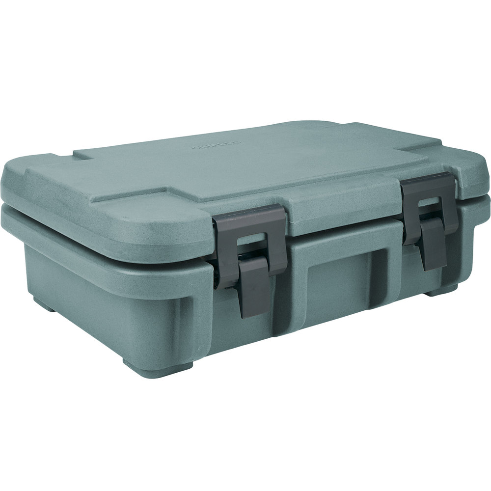 "Cambro UPC140401 Slate Blue Camcarrier Ultra Pan Carrier - Top Load for 12"" x 20"" Food Pan"