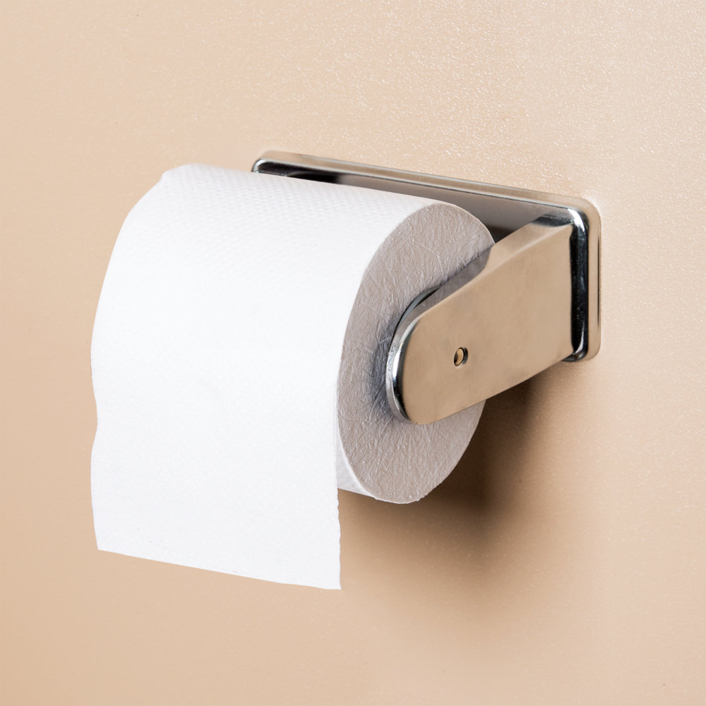 San Jamar R1200XC Non-Locking Single Roll Toilet Tissue Dispenser ...