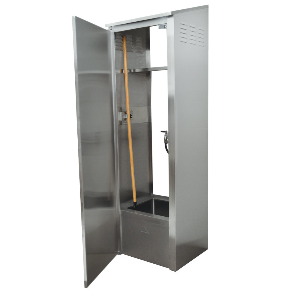 Advance Tabco 9-OPC-84-300 Stainless Steel Mop Sink Cabinet - 25 ...