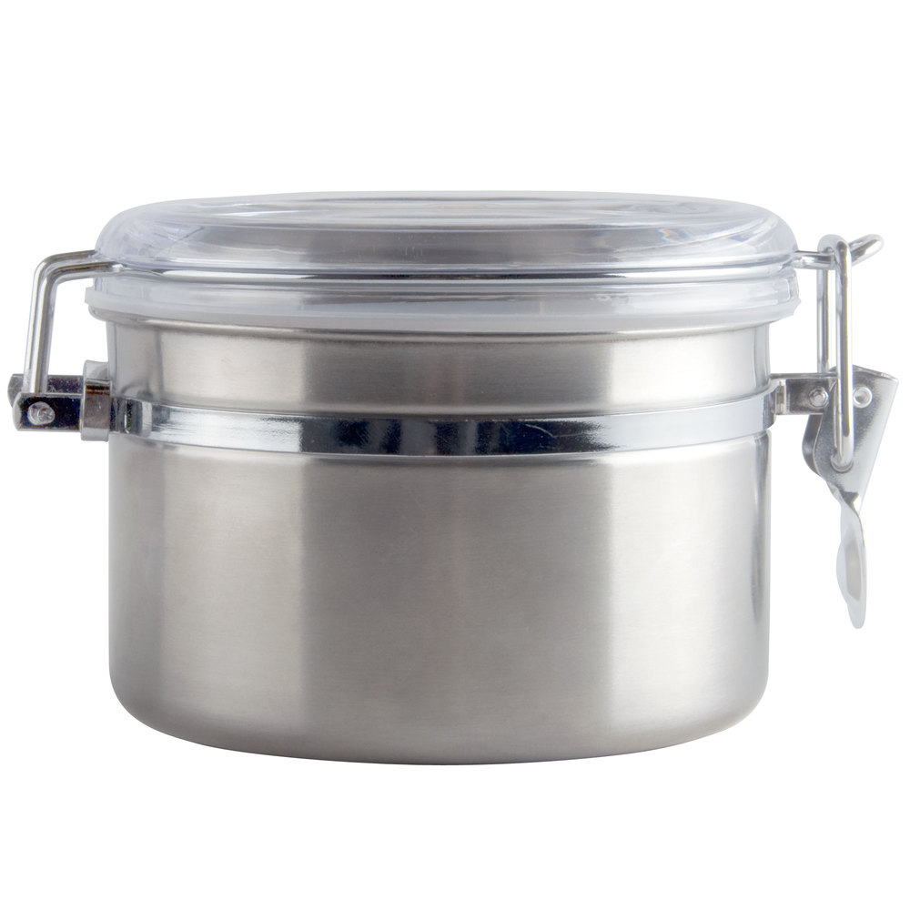 26 Oz Stainless Steel Ingredient Storage Canister With