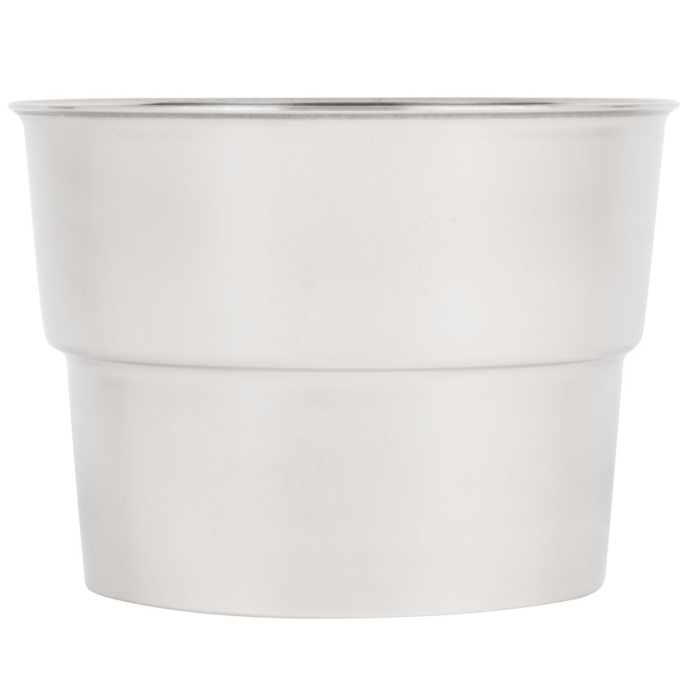 "Malt Cup Collar for 3 7/8"" Cups - Stainless Steel"