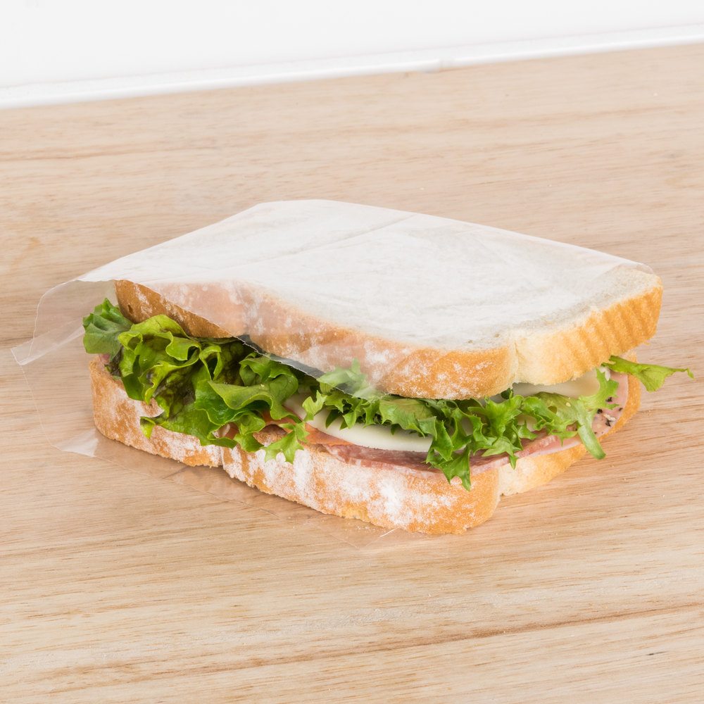 "Plastic Food Bag 6"" x 6"" Sandwich Size On a Roll 2500 / Roll"