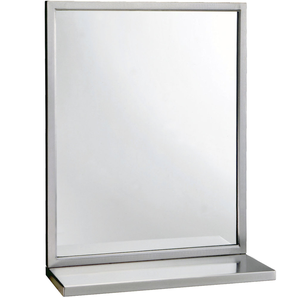 Bobrick B 292 1836 18 Quot X 36 Quot Stainless Steel Welded Frame
