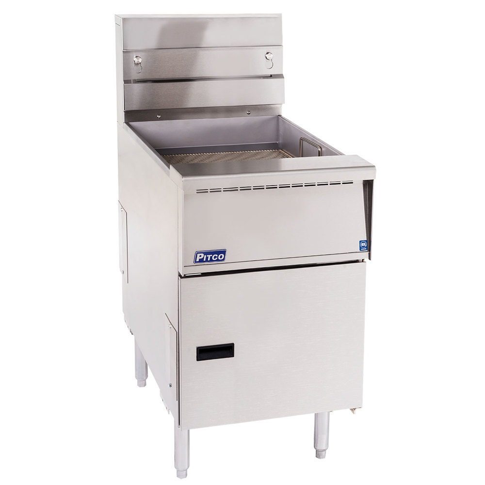 Pitco SG-BNB-18 Solstice Bread and Batter Cabinet Fry Dump Station