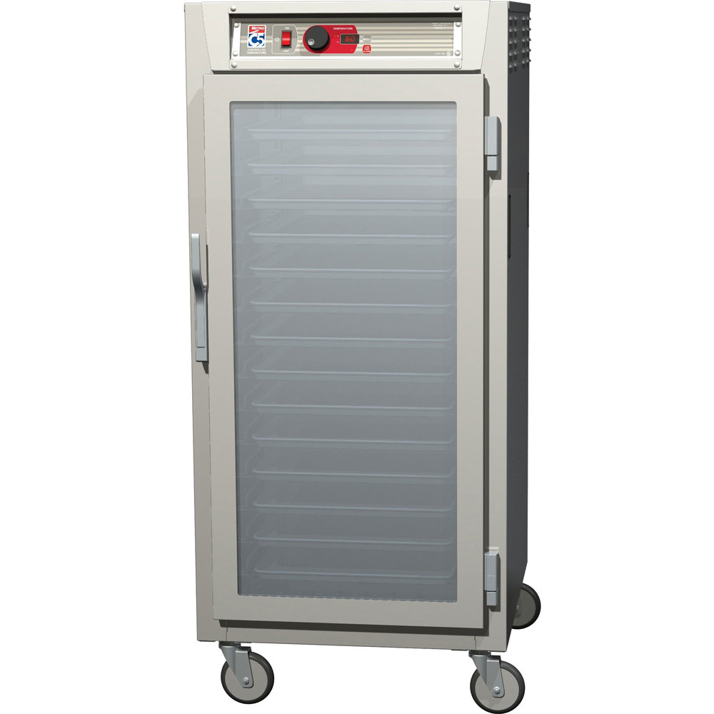 Metro C587-SFC-L C5 8 Series Reach-In Heated Holding Cabinet - Clear Door