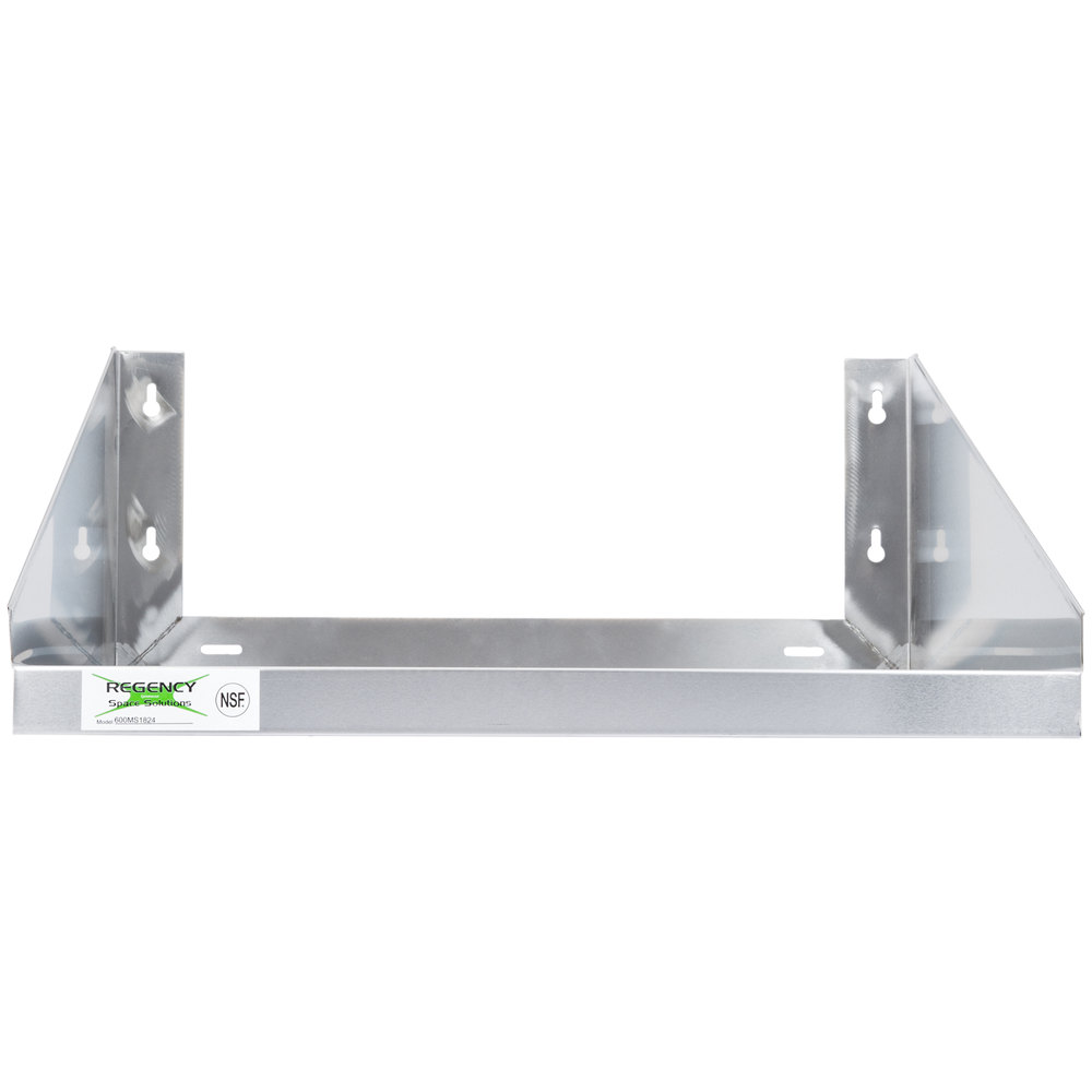 Regency 24 Quot X 18 Quot Stainless Steel Microwave Shelf