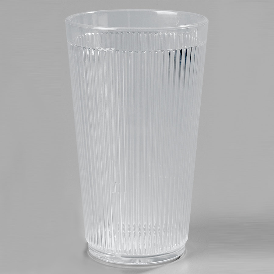 Carlisle 403407 Clear Crystalon RimGlow Tumbler 16 oz. - 48 / Case