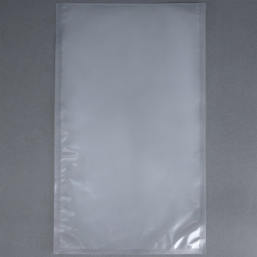 "ARY VacMaster 30745 10"" x 18"" Chamber Vacuum Packaging Pouches / Bags 3 Mil - 500/Case"
