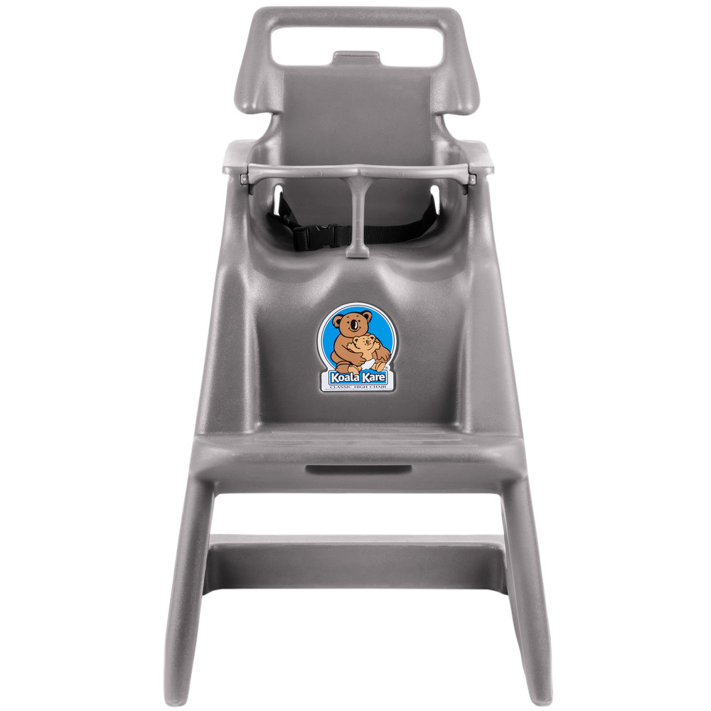 ... High Chair With Wheels   Gray. Main Picture ...