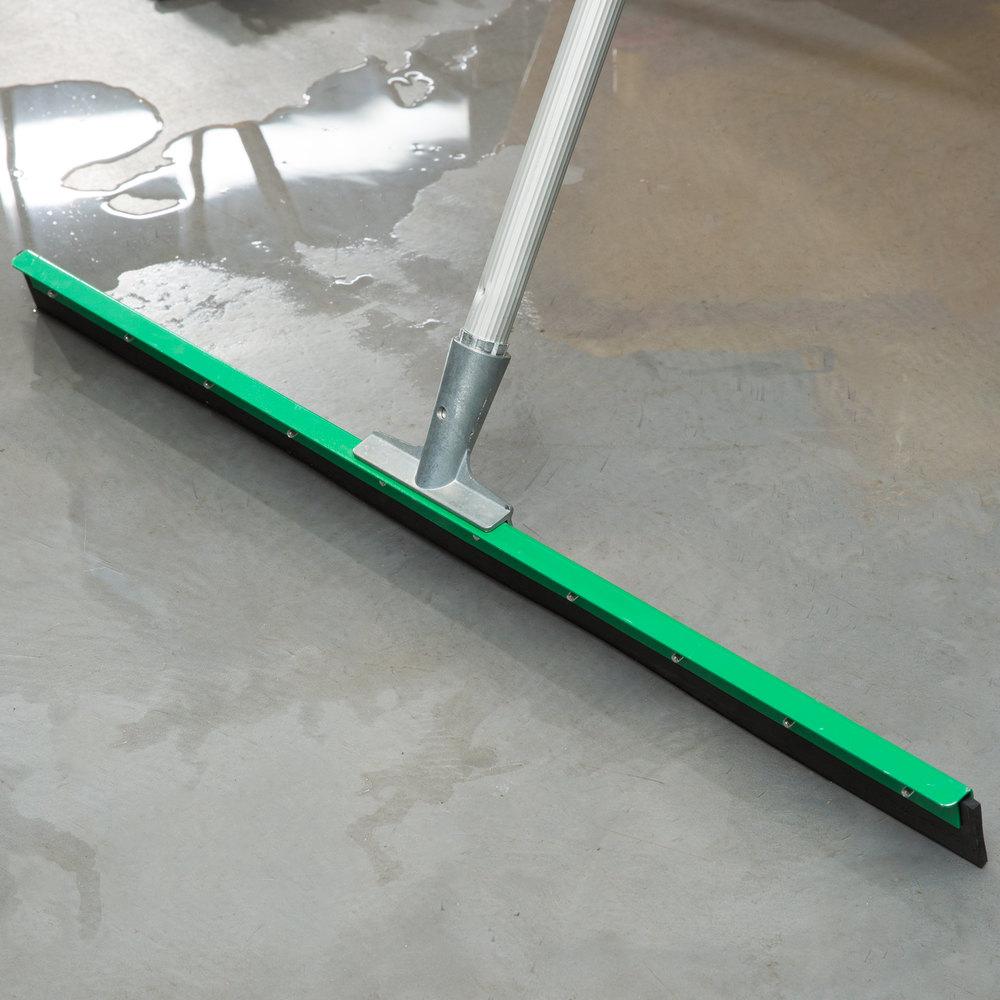 Unger fp750 aquadozer heavy duty 30quot straight floor squeegee for Floor squeegees heavy duty