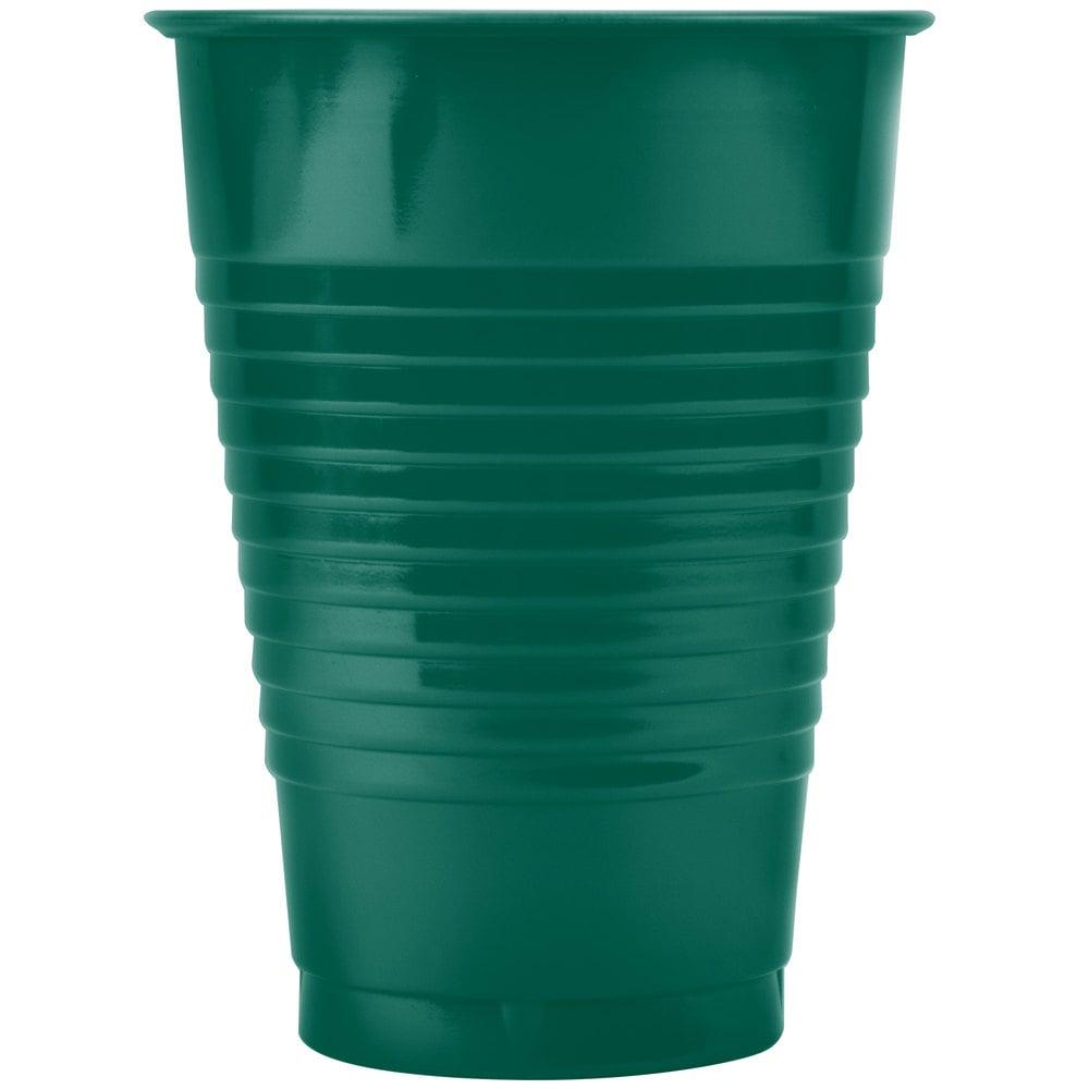 Dart Solo Ps12g 12 Oz Green Plastic Cup 1000 Case