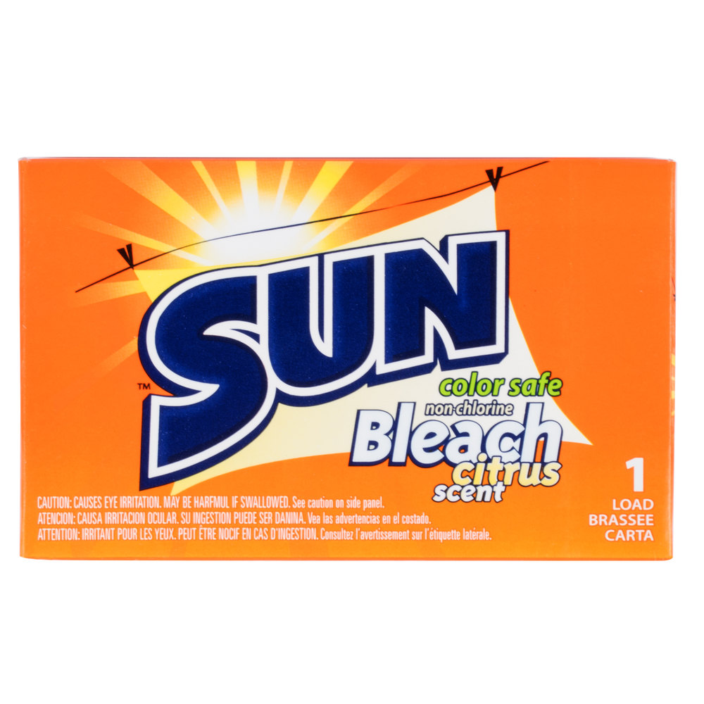 All In One Detergent With Color Safe Bleach