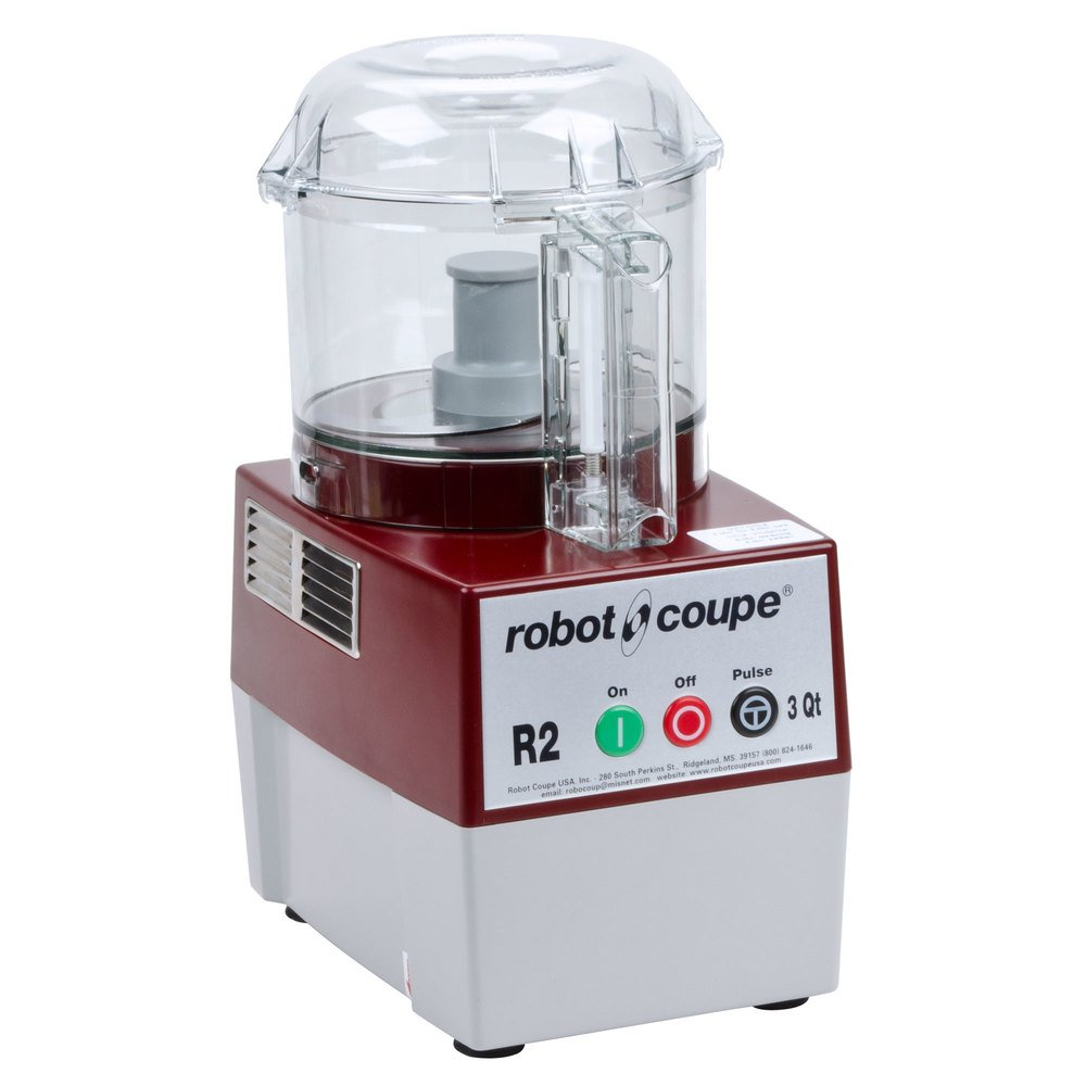 Robot coupe r2bclr food processor with 3 qt clear polycarbonate bowl 1 hp - Robot coupe ice cream maker ...