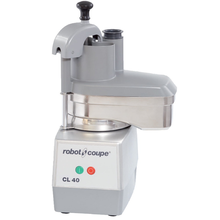 Robot Coupe CL40 Continuous Feed Food Processor with All Metal Base - 1 hp