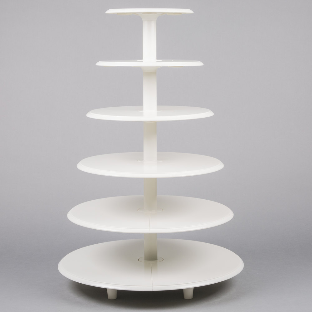 Tier Cake Stand With Cakes